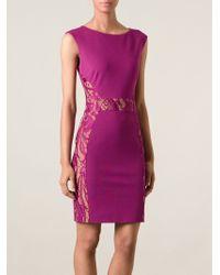 Emilio Pucci Lace Insert Dress - Lyst