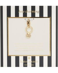 Kate Spade How Charming Engagement Ring Charm - Lyst