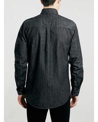 LAC - Ltd Bk Denim Shirt - Lyst