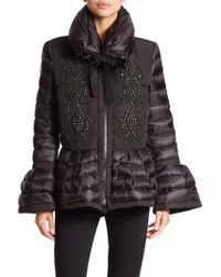 Moncler Marchand Beaded Down Jacket - Lyst