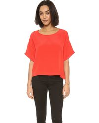 OTTE New York - Solid Bobo Top  - Lyst