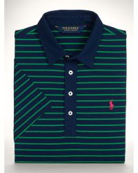 Ralph Lauren Striped Stretch Polo Shirt - Lyst