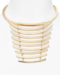 "BaubleBar - Vertebrae Collar Necklace, 14"" - Lyst"