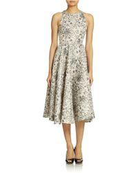 Cynthia Rowley Jacquard Dress - Lyst