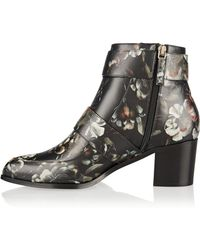 Jason Wu - Floral-printed Leather Boot - Lyst