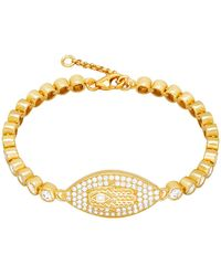Nialaya Linked Lux Collection Bracelet - Lyst