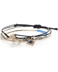 River Island Turquoise Casual Bracelet Pack - Lyst