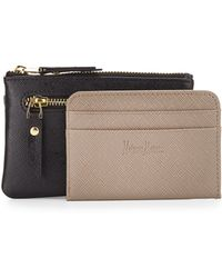 Neiman Marcus - Leather Small Coin Purse - Lyst