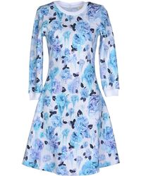 Calla - Short Dress - Lyst