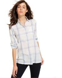 Tommy Hilfiger Plaid Button-down Shirt - Lyst