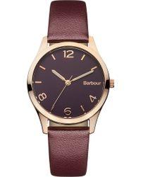 Barbour | Bb002byby Ladies Strap Watch | Lyst