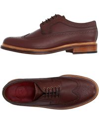 Grenson   brown Lace-up Shoes   Lyst