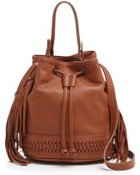 Grace Atelier De Luxe - Babette Boheme Fringe Bucket Bag - Lyst