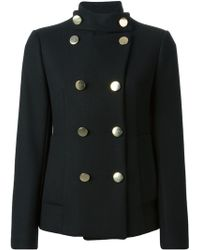 Dondup Double Breasted Jacket - Lyst