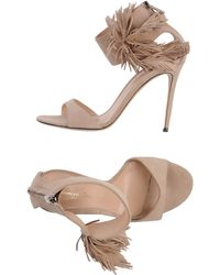 Gianvito Rossi Sandals - Lyst