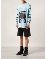 Hood By Air Layered Graphic Tshirt - Lyst