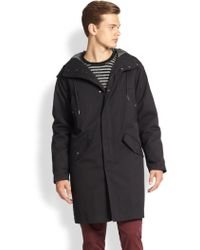 Marc By Marc Jacobs Hooded Parka - Lyst