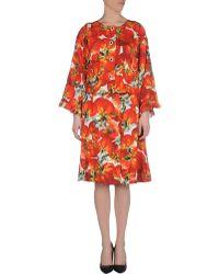 Dolce & Gabbana Red Women'S Suit - Lyst