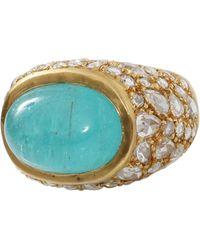 Yossi Harari - Paraiba And Diamond Ring - Lyst