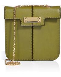 Valentino Leather Closeup Shoulder Bag - Lyst