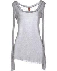 Dondup T-Shirt gray - Lyst