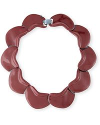 Tuleste - Solid Petal Necklace - Lyst