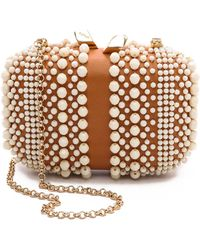 KOTUR - Beaded Margo With Drop In Chain Whitenatural - Lyst