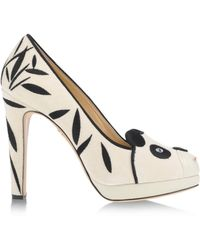 Charlotte Olympia White Closed Toe - Lyst
