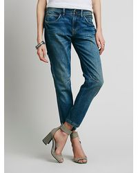 Free People Womens Lachlan Utility Jean - Lyst