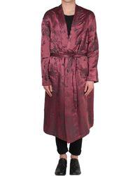 Haider Ackermann - Silk And Linen Gown - Lyst