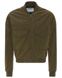 McQ by Alexander McQueen Classic Bomber Jacket - Lyst