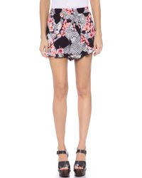 MINKPINK Lacey Gardener Shorts - Multi multicolor - Lyst