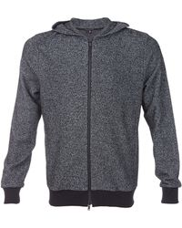 Theory Marble Terry Orson Zip Up Hoodie - Lyst