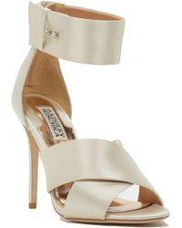 Badgley Mischka Kassie Ankle Strap Evening Shoe - Lyst