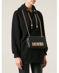 Moschino Shoulder Bag Sweatshirt - Lyst