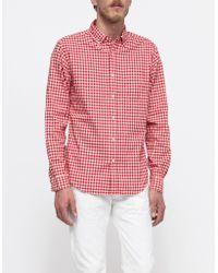 Alex Mill Gingham Shirt - Lyst