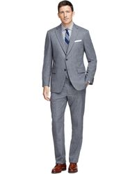 Brooks Brothers Madison Fit Threepiece Stripe Suit - Lyst