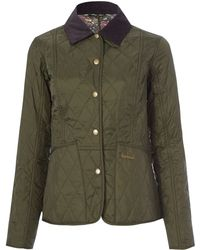 Barbour - Olive Strawberry Thief Print Liddesdale Jacket - Lyst