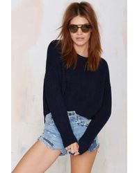 Nasty Gal The Fifth Play By Play Knit Sweater - Lyst