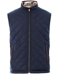 Brooks Brothers - Reversible Quilted Gilet - Lyst