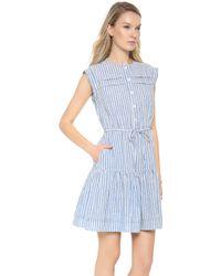 Steven Alan - Field Dress Wish Blue - Lyst