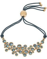 Caroline Creba - 18ct Gold Plated Titania Friendship Bracelet - Lyst