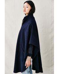 Urban Renewal - Remade Zip-up Maxi Cape - Lyst