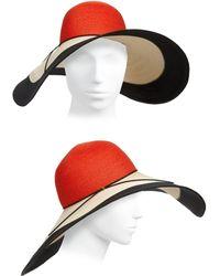 Eugenia Kim | Sunny Colorblock Sun Hat | Lyst
