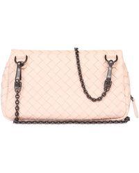 Bottega Veneta Intrecciato Nappa Leather Shoulder Bag - Lyst