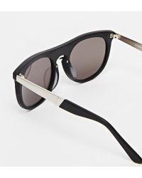 Consortium - Round Sunglasses - Lyst