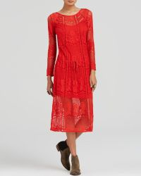 Free People Dress - Luna Lace - Lyst