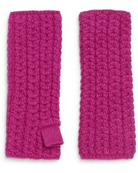 Portolano | Woven Tube Gloves | Lyst