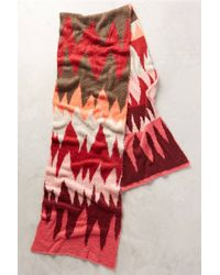 Cecilia Prado - Chevron Brushed Blanket Scarf - Lyst