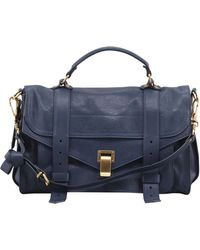 Proenza Schouler Ps1 Medium Leather Satchel Bag - Lyst